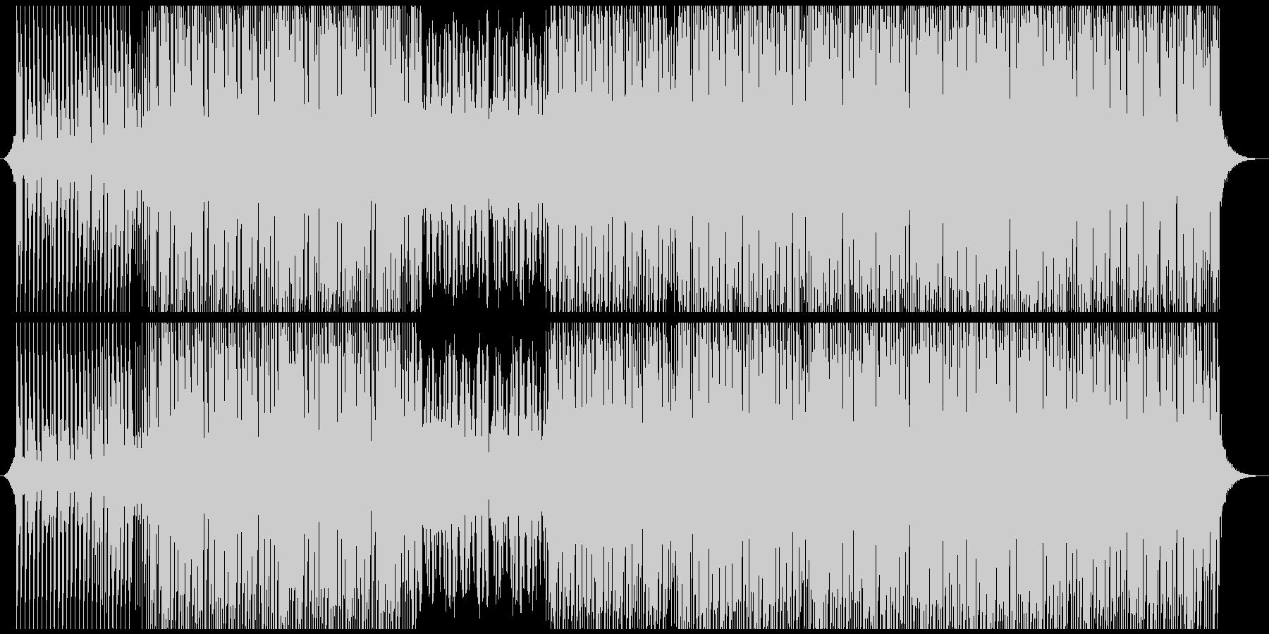 ポジティブポップの未再生の波形