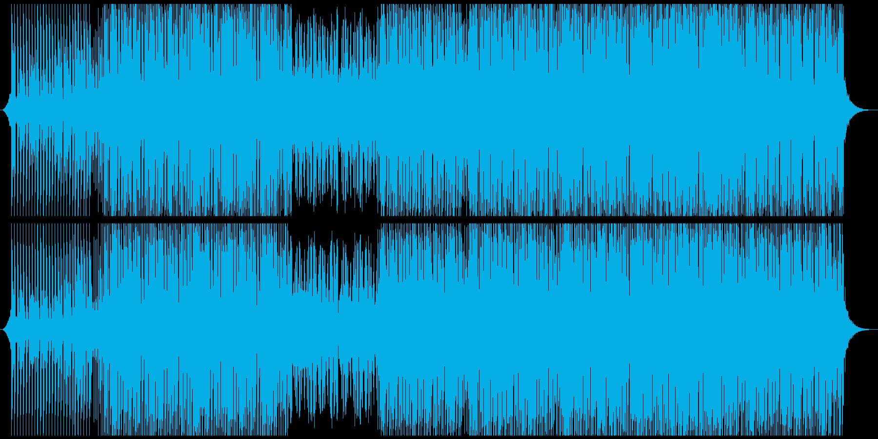 ポジティブポップの再生済みの波形