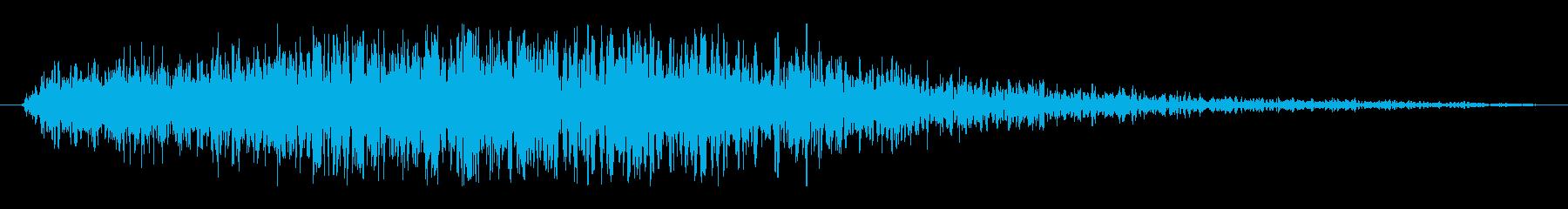 フィクション スペース 未知の危険01の再生済みの波形