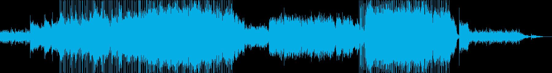 女性目線で告白するバラードナンバーの再生済みの波形