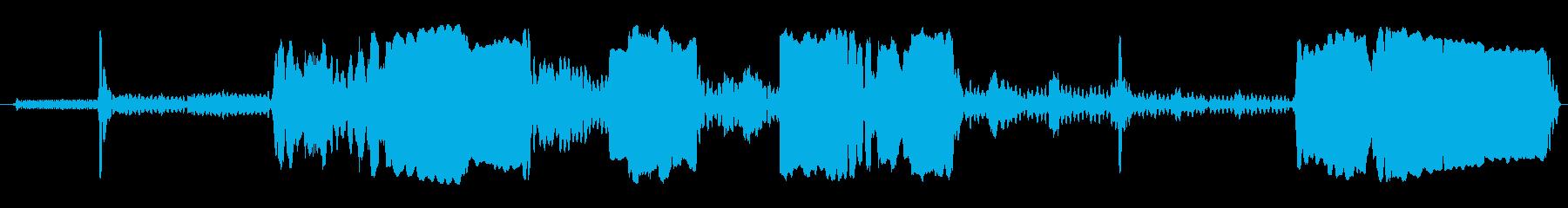 機械 オーバードライブエラーLon...の再生済みの波形