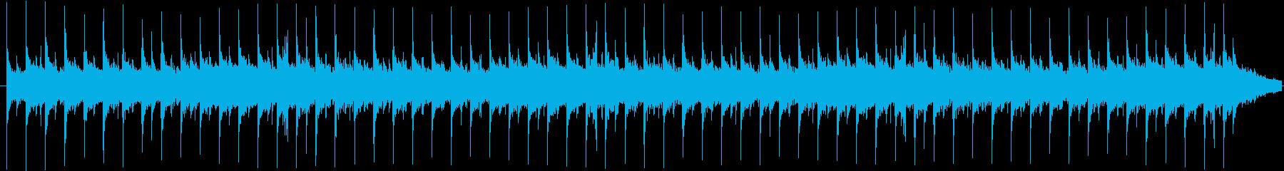 8ビート エレクトロ系 ループの再生済みの波形