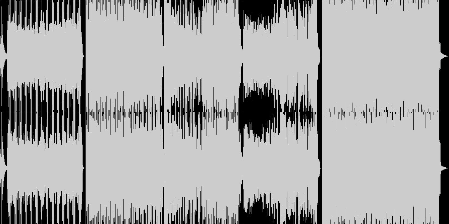 豊かでソウルフルなシンセサウンドの未再生の波形