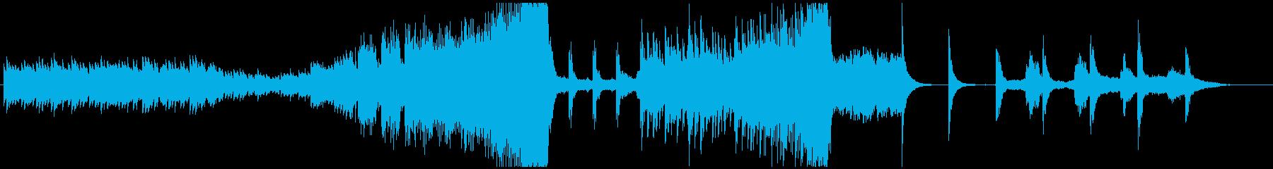 ダークなエレクトロ スリラーやホラーに!の再生済みの波形