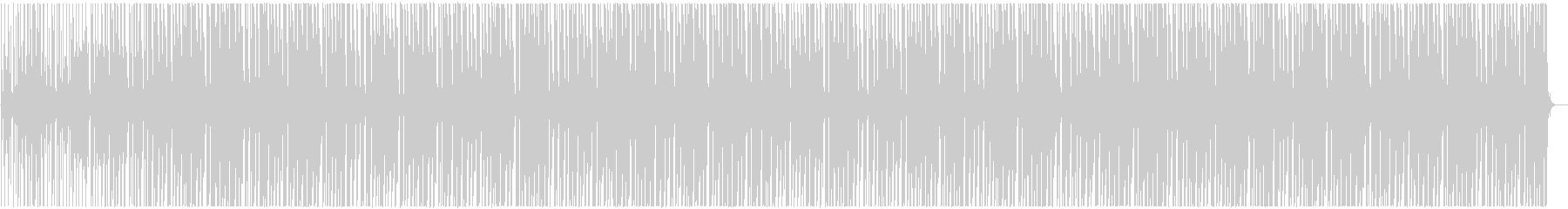 明るくかわいい アフロビート調レゲエの未再生の波形