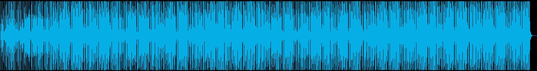 明るくかわいい アフロビート調レゲエの再生済みの波形