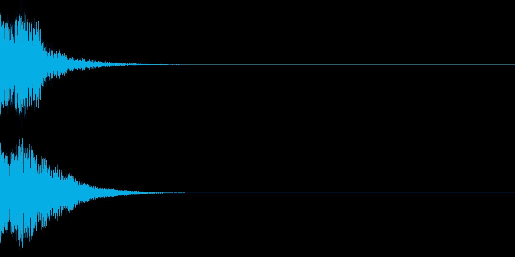 光る キュイーン ピカーン キラン 01の再生済みの波形