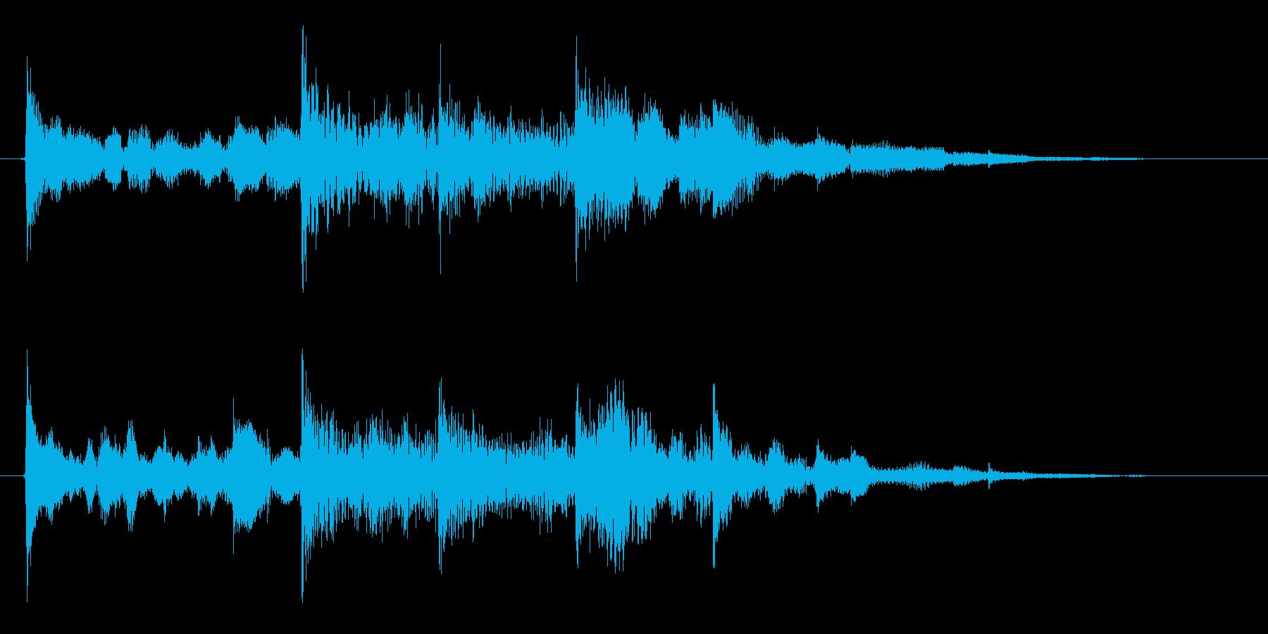 オープニング用ジングル120/ショートの再生済みの波形