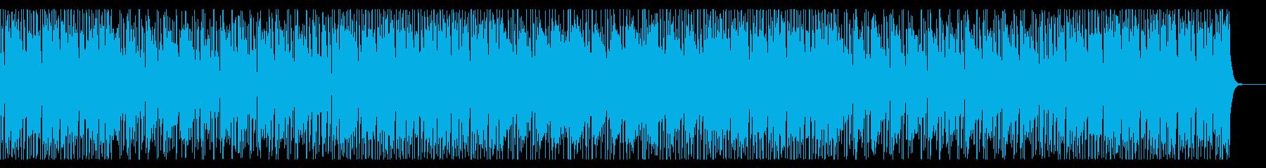 ノリノリなジャズ風インストの再生済みの波形