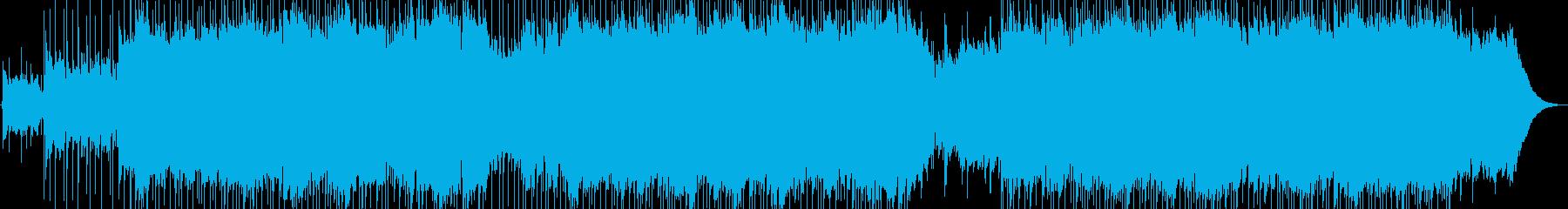 サンセットビーチで聴きたいウクレレソングの再生済みの波形
