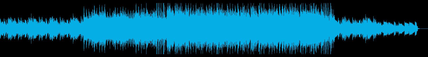 企業向けのアコギが特徴的なBGMの再生済みの波形