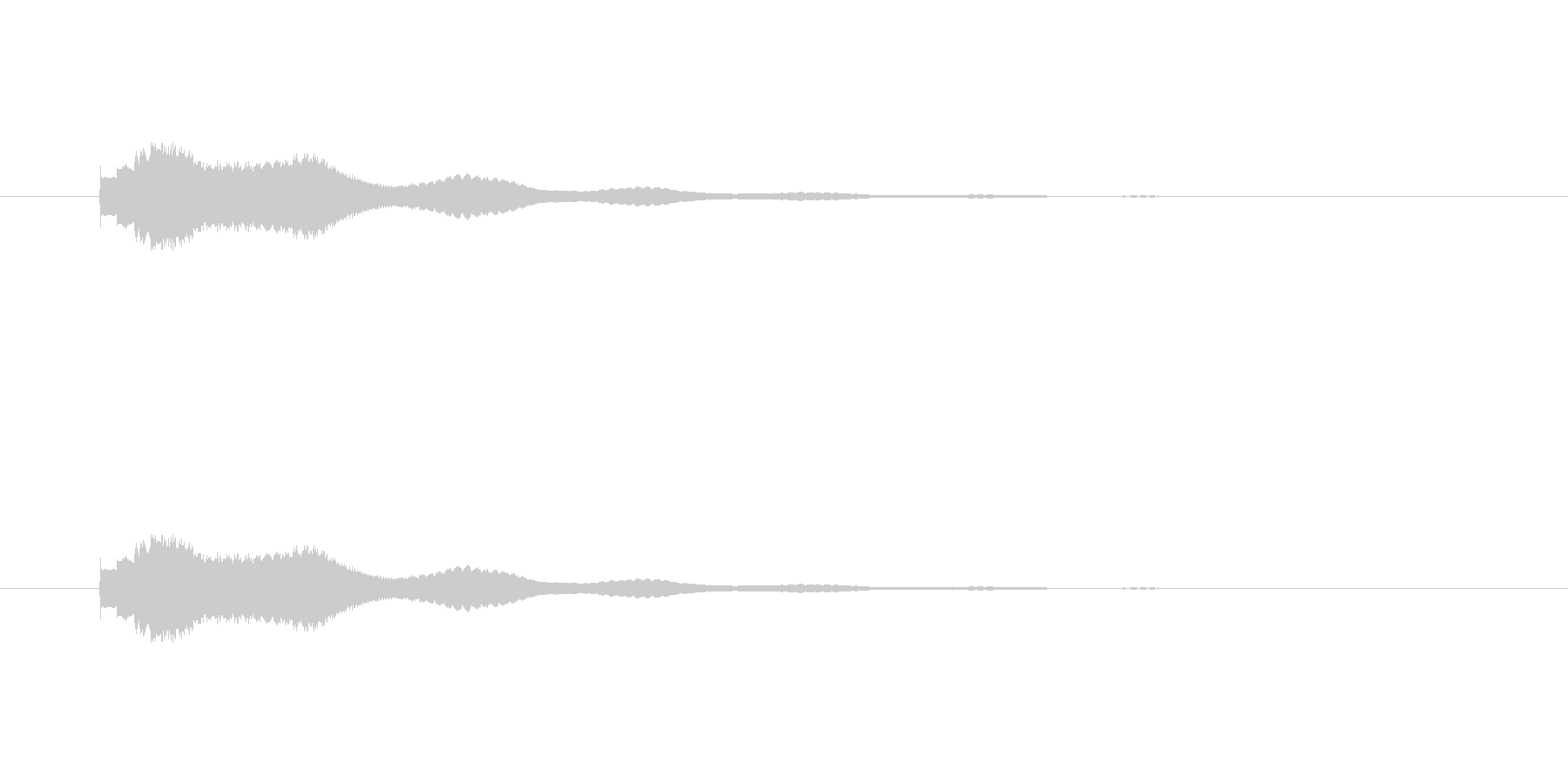 キラリン(アイテム発見、星、ひらめき)の未再生の波形
