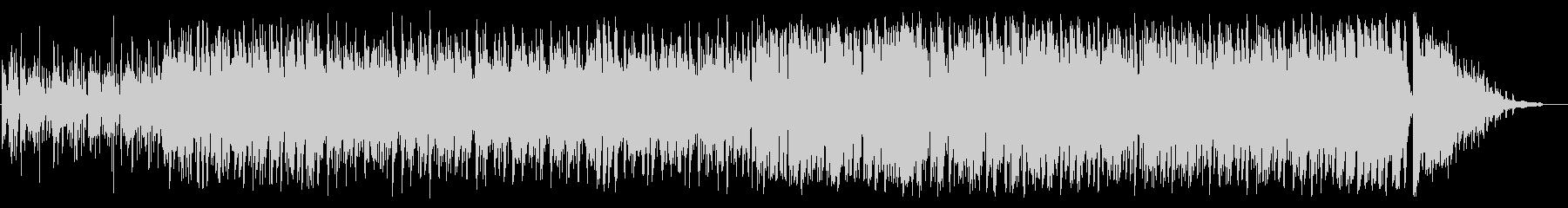 エッジの効いたサックスがかっこいいジャズの未再生の波形