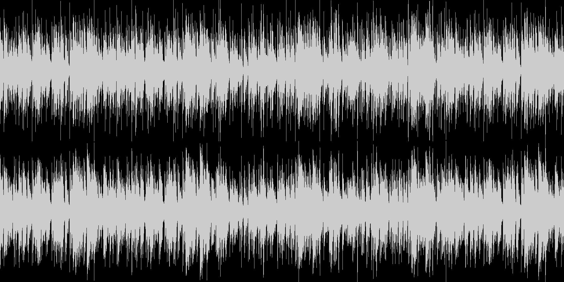 お洒落なジャズピアノトリオ16 ループの未再生の波形