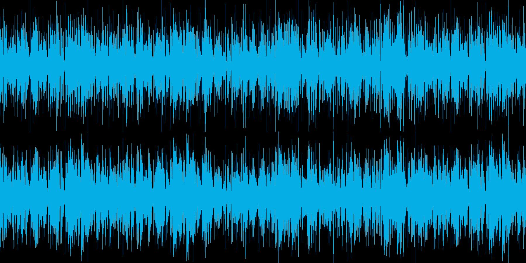 お洒落なジャズピアノトリオ16 ループの再生済みの波形