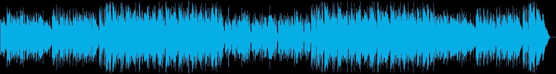 Youtube・雨の日の優しいペット映像の再生済みの波形