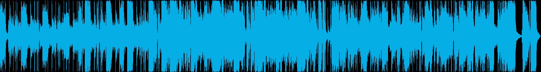 クラシックなクールファンクサウンドの再生済みの波形