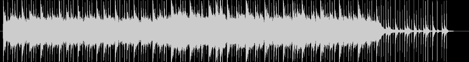 幻想的なピアノサウンドの未再生の波形