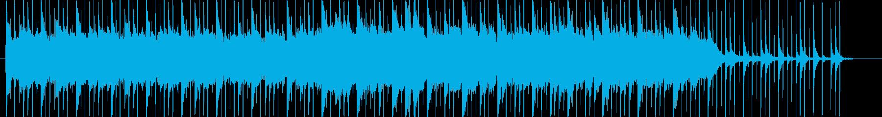 幻想的なピアノサウンドの再生済みの波形