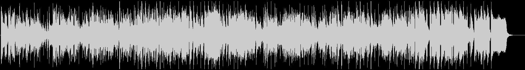 ウキウキするサックス生演奏ジャズファンクの未再生の波形