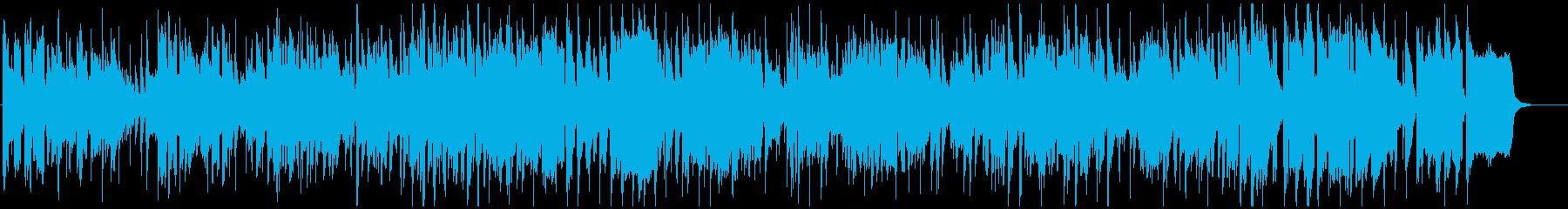 ウキウキするサックス生演奏ジャズファンクの再生済みの波形