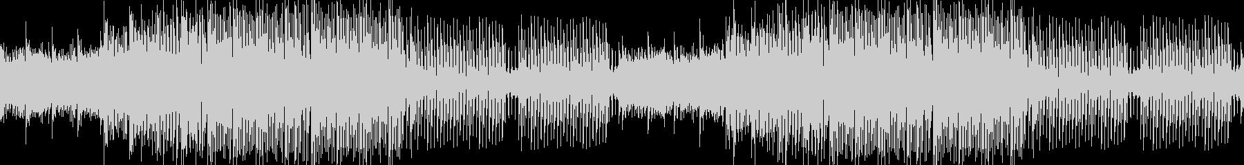 爽やか琴と三味線の和風EDM、優しい尺八の未再生の波形