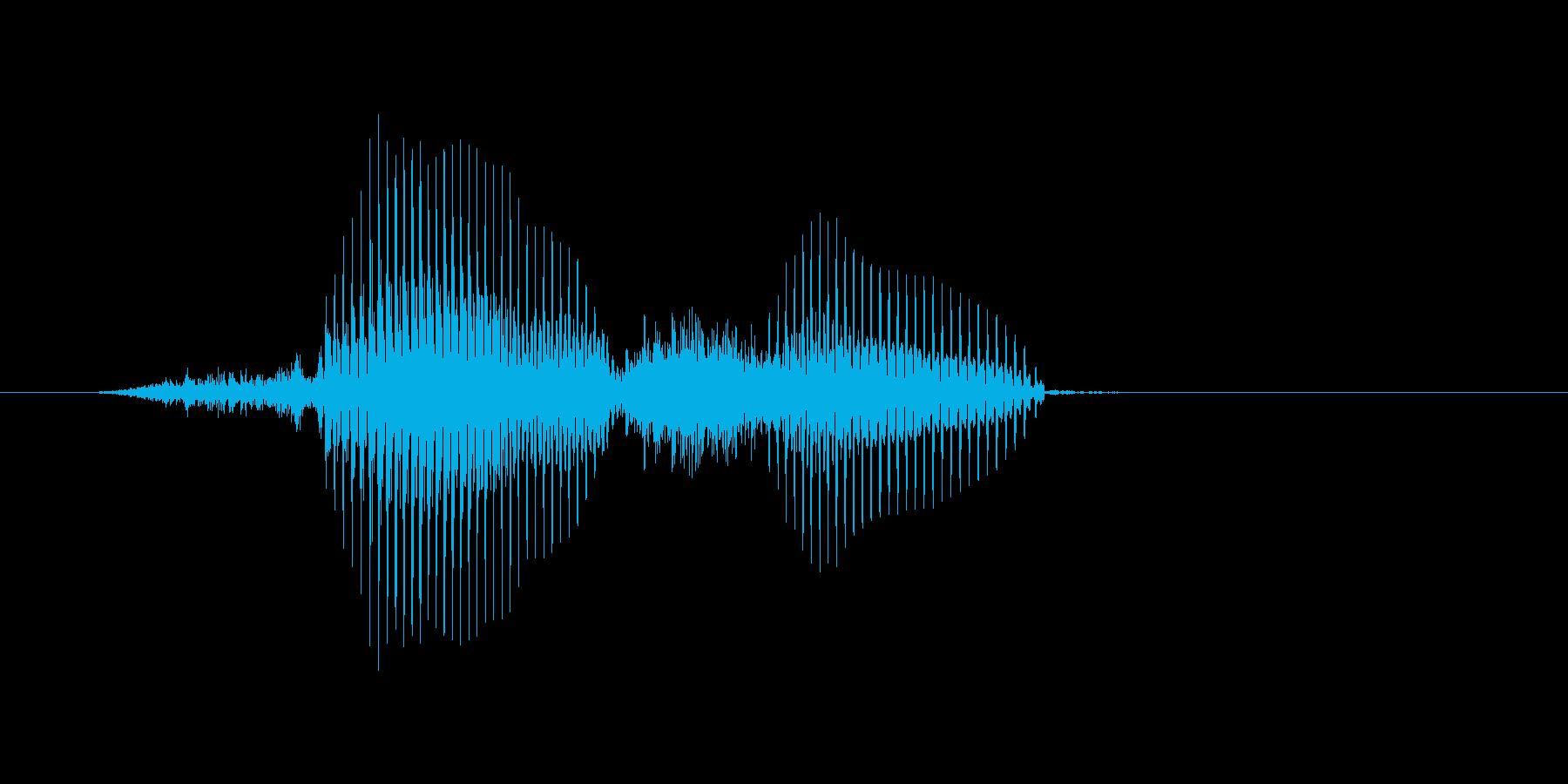 三振(さんしん)の再生済みの波形
