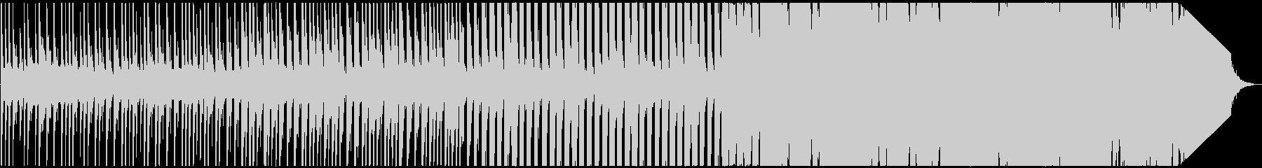 石の世界をイメージしたBGMの未再生の波形