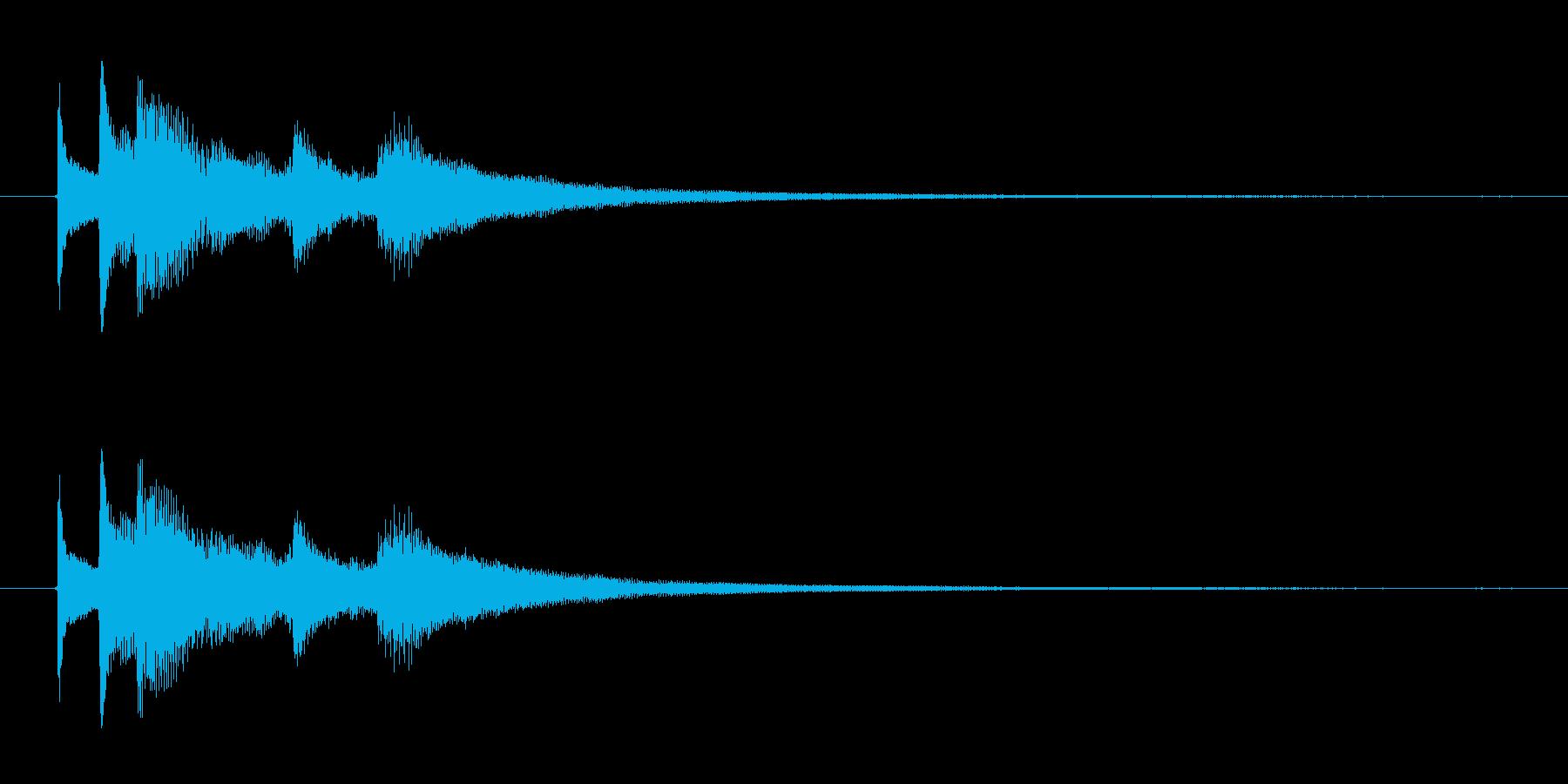 ジングル用 アコギ 水平線に沈みゆく太陽の再生済みの波形