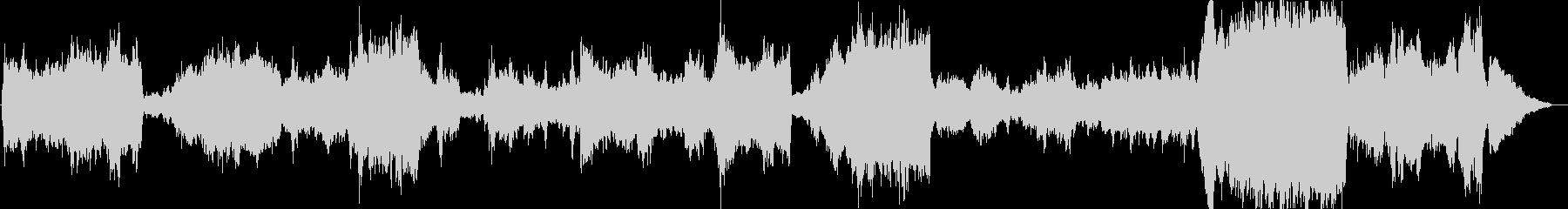 FFタクティクスの世界観でオーケストラ曲の未再生の波形