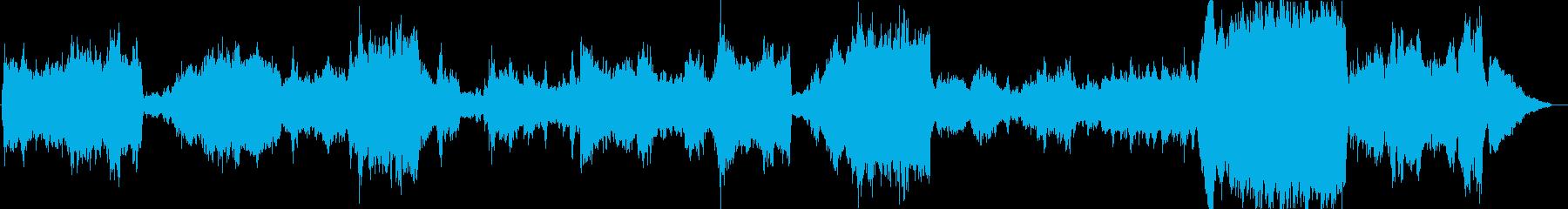 FFタクティクスの世界観でオーケストラ曲の再生済みの波形