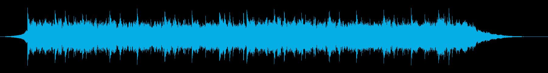 感動的な映像、ピアノ、ポストクラシカル1の再生済みの波形
