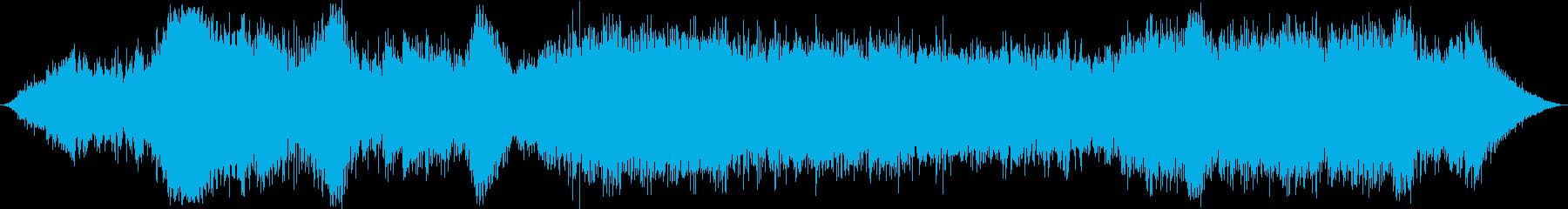 ラジオ制作シーン:カーチェイス:ス...の再生済みの波形