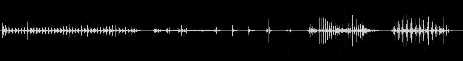 弓と矢0-15の未再生の波形