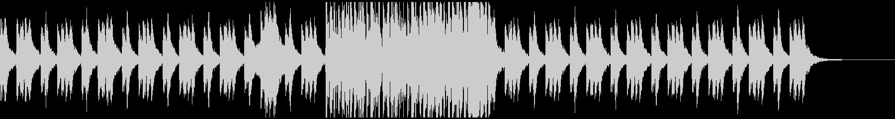 オーケストラ・ホラー系BGMの未再生の波形