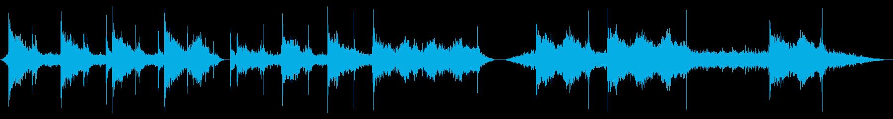 産業機械油圧プレスx3の再生済みの波形