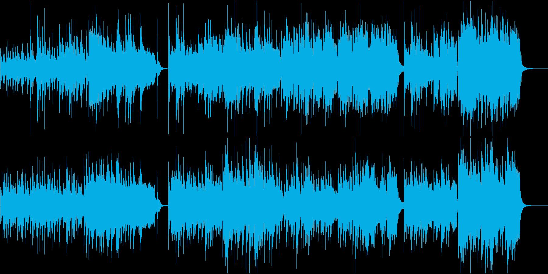 物語の始まりを予感させるピアノと弦楽器♪の再生済みの波形