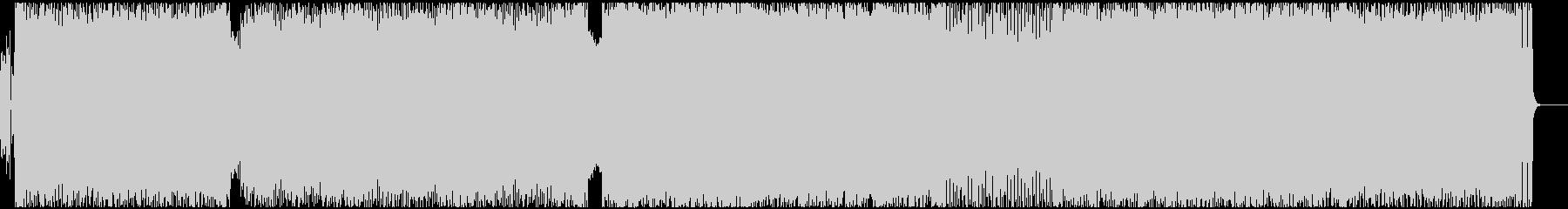 激しいデスメタル Vo有の未再生の波形