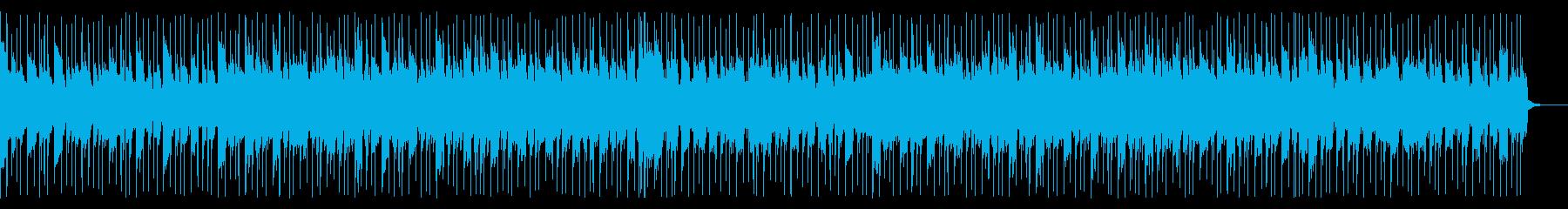 哀愁のあるBGMの再生済みの波形