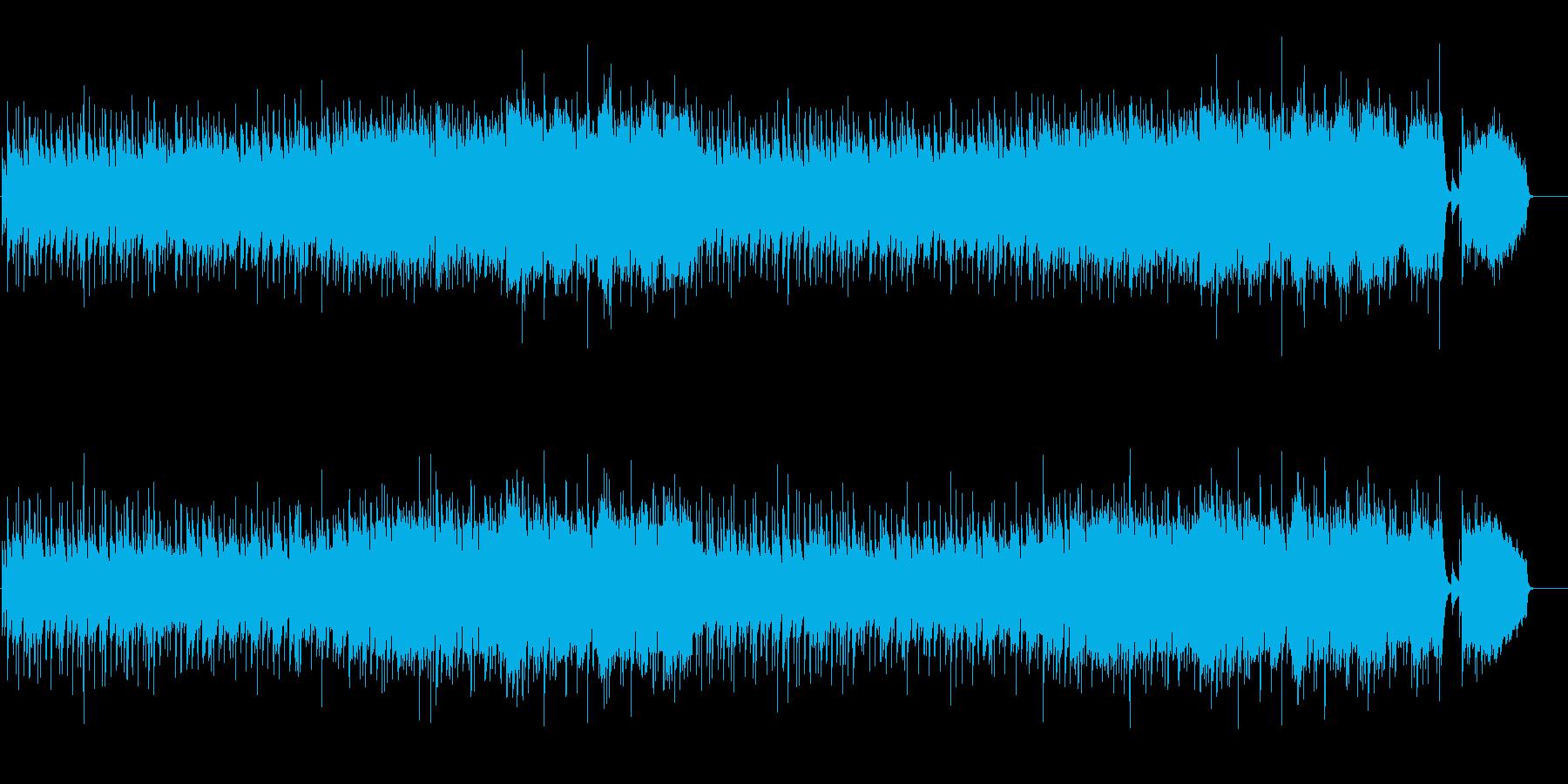 琴と和鈴が印象的な和風ポップバラードの再生済みの波形