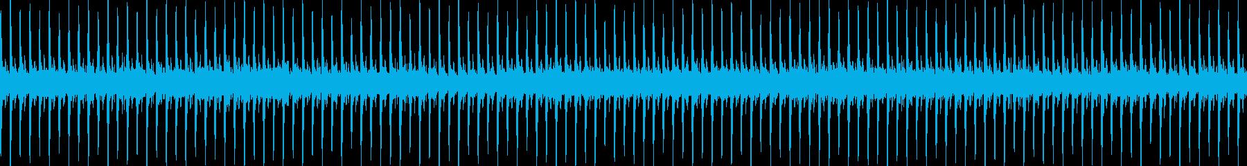 ピアノが印象的な軽快でさわやかな音楽の再生済みの波形