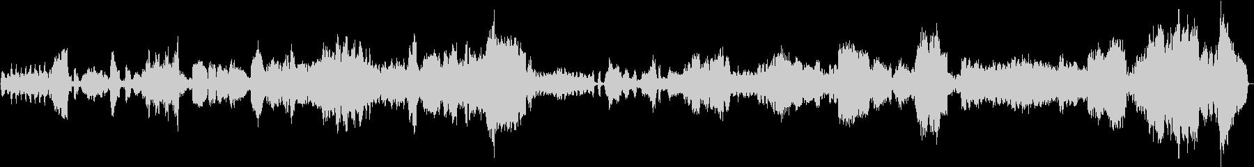 クロード・ドビュッシーのカバーの未再生の波形