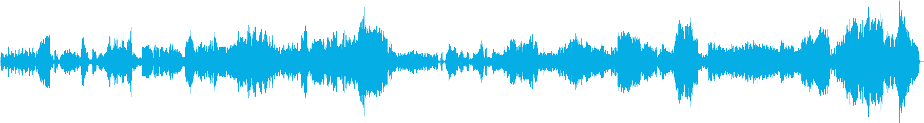 クロード・ドビュッシーのカバーの再生済みの波形
