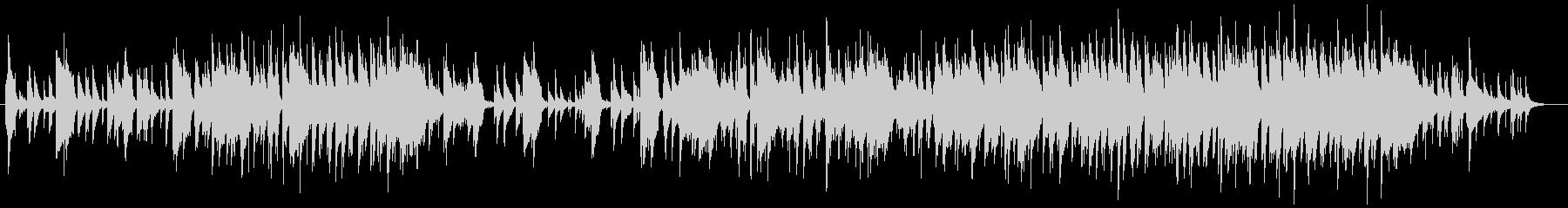 おしゃれなバーのピアノBGMの未再生の波形