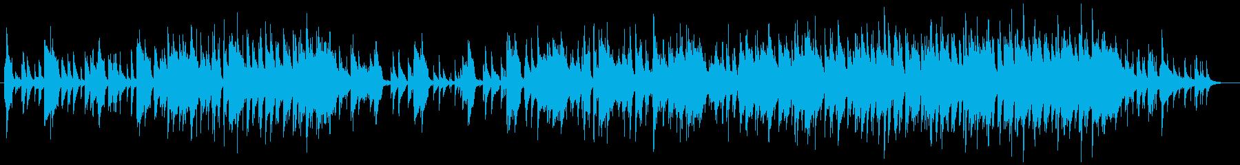 おしゃれなバーのピアノBGMの再生済みの波形
