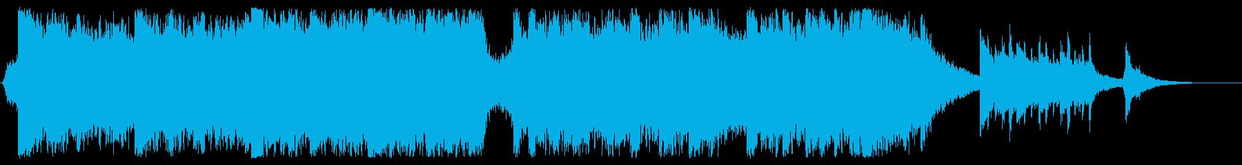 結婚式や表彰式に 感動オーケストラ60秒の再生済みの波形