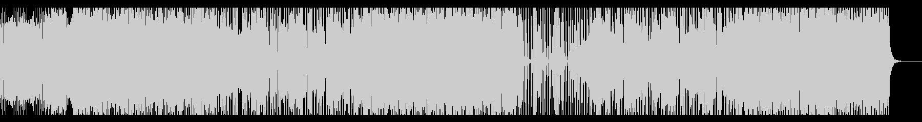 わくわく心躍るシンセサウンドの未再生の波形