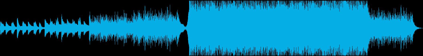 企業VPでインスピレーションのある曲の再生済みの波形