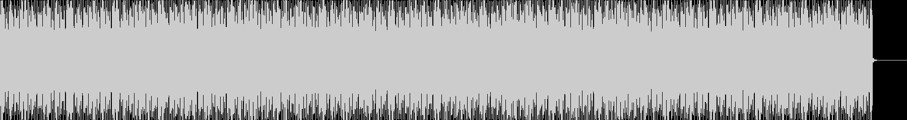 EDMなBGM001の未再生の波形