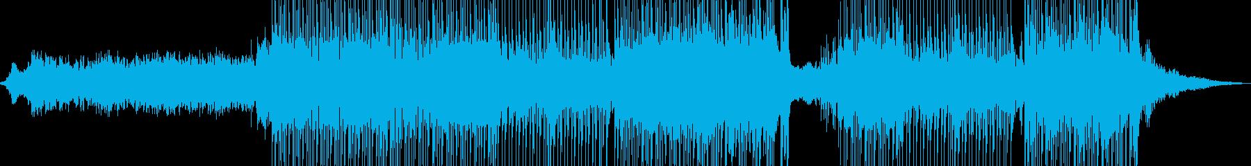 琴・レトロな演歌調ポップ 長尺+★の再生済みの波形